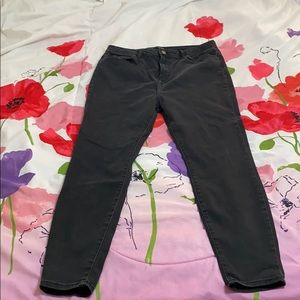 Forever21 back plus size skinny jean